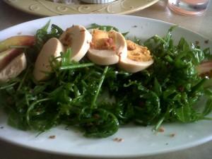 Dal Cielo's pako salad