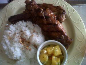 Dal Cielo's Pork BBQ Spareribs