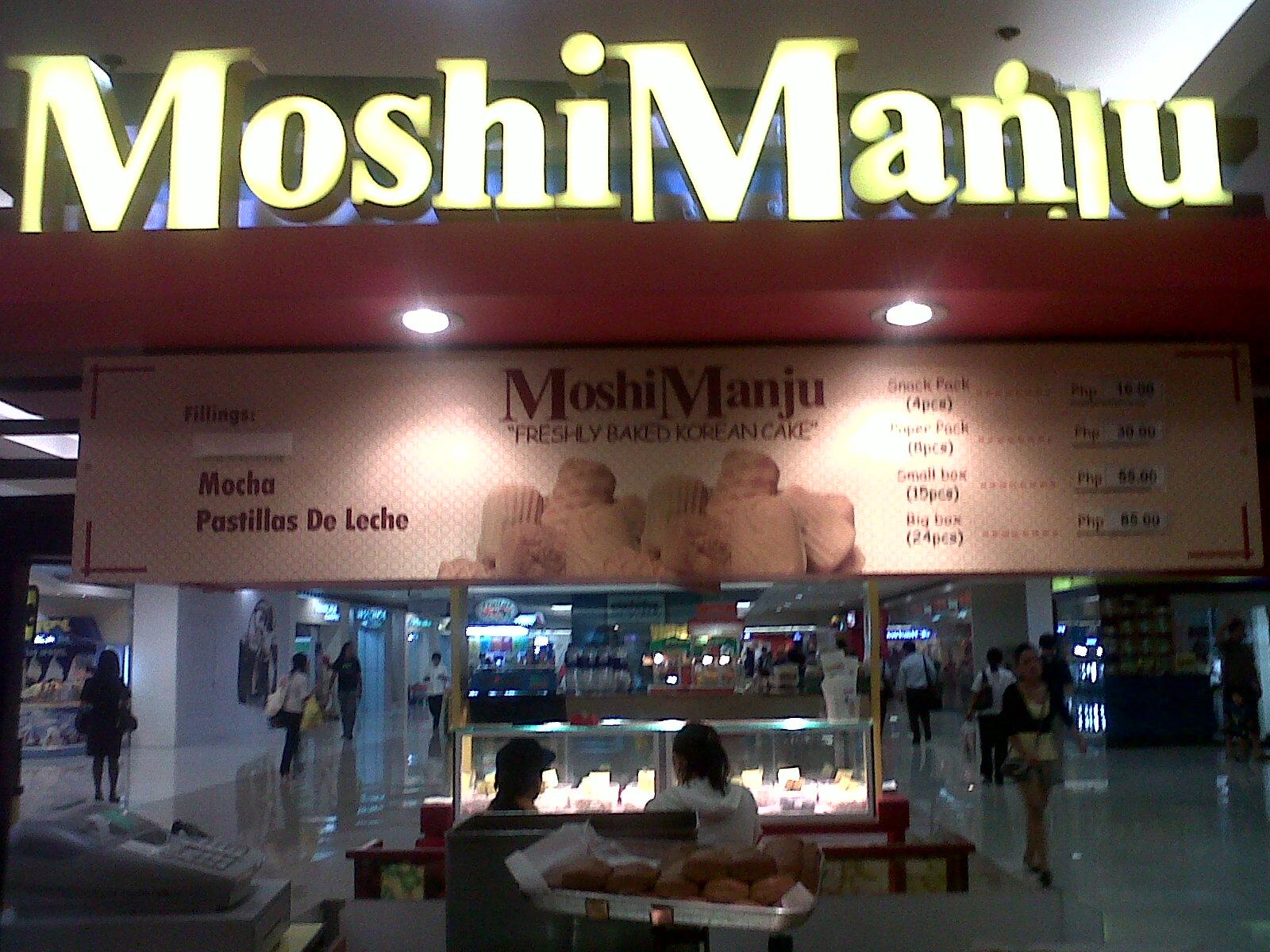 Moshi Manju: Korean Cake