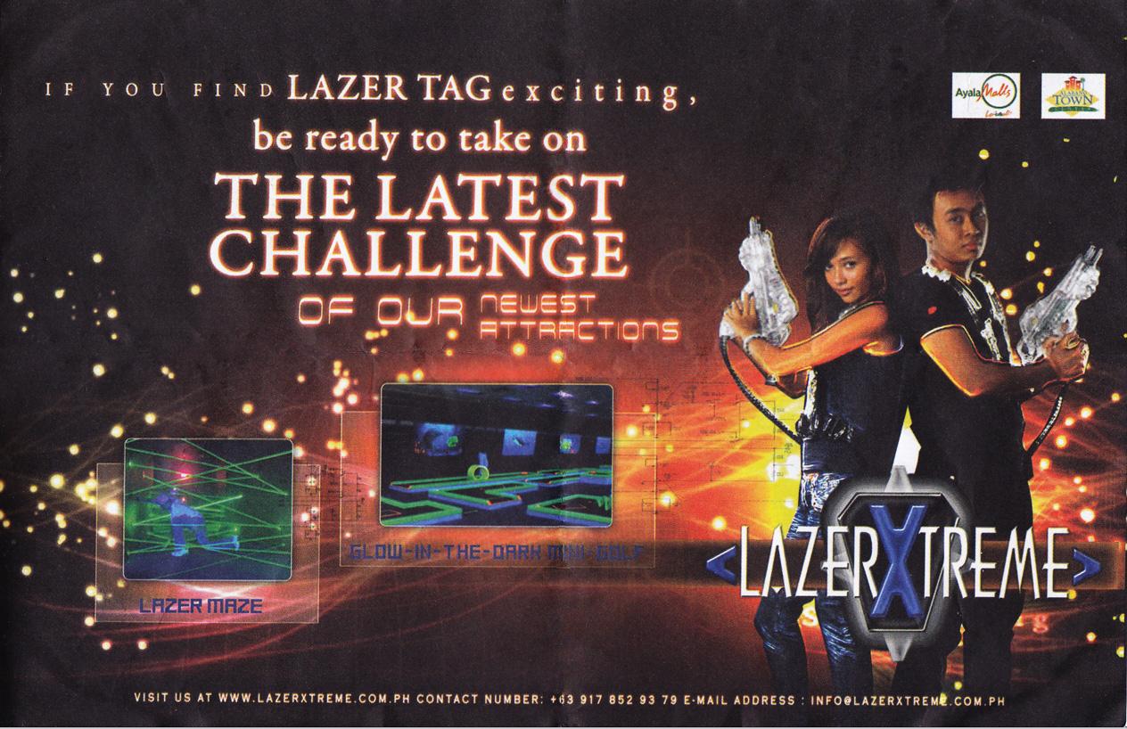Adrenaline Rush at LazerXtreme!