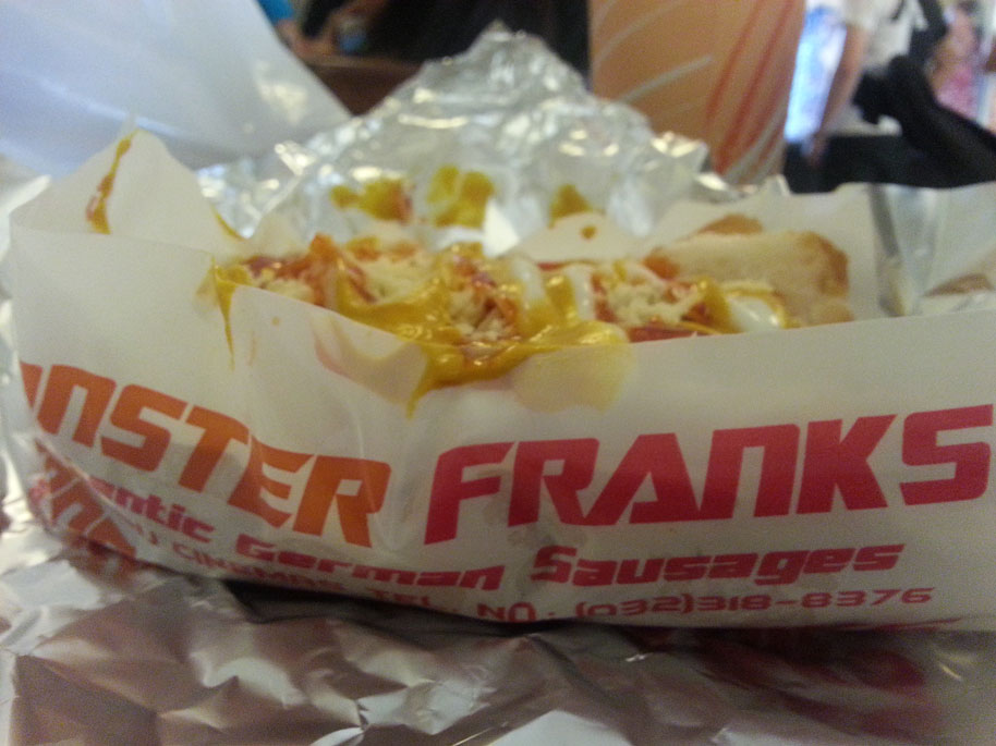 Cebu Foodtrip: Monster Franks and Pasalubong