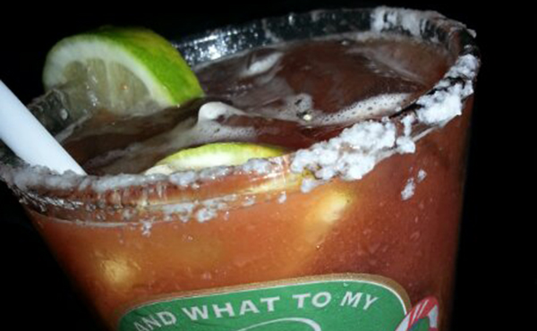 The Spice Jar Food Hub: Burrito and Michelada